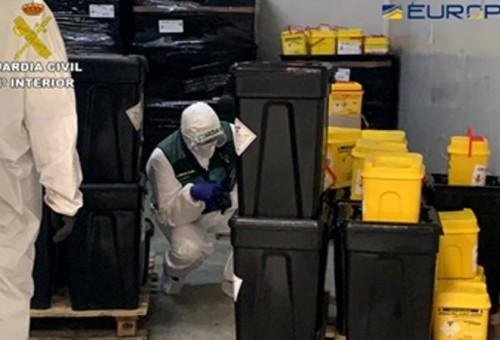 Investigados en Valladolid por el traslado de residuos sanitarios